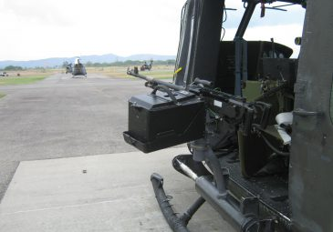 240D on Colombian Air Force UH1